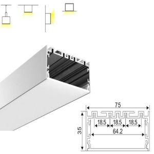 7535 LED Linear Pendant Light Aluminium Extrusion LED Aluminium Profile pictures & photos