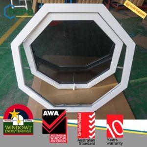 UPVC Double Glazed Bay Window, Plastic Casement Window pictures & photos