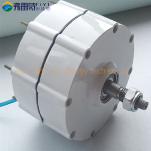 600W Low Rpm Permanent Magnet Generator with 2 Shaft pictures & photos
