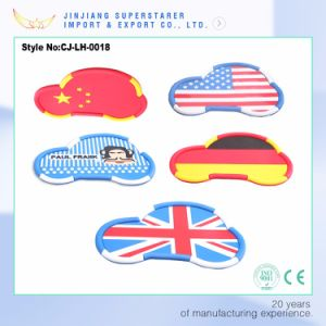 Cartoon Decotation Special Perfume Non-Slip Car Pads, Camellia Decoration Car Antiskid Pads pictures & photos