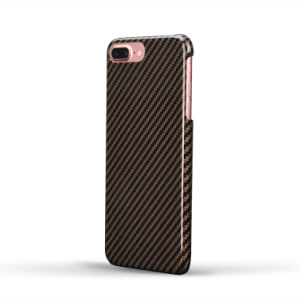 Portable Unique Design Aramid Fiber Case for iPhone 7 Plus Frame Cover pictures & photos