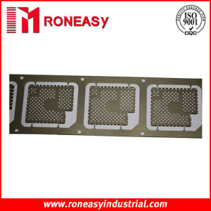 Precision Metal Progressive Die Stamping Strip (Model: RY-SS014)