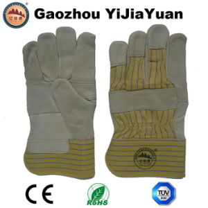 Ab Grade Cow Grain Leather Car Driving Work Gloves pictures & photos