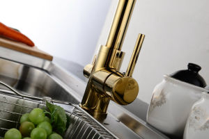 Dual Handle Multiple Surface Treatment RO Kitchen Tap pictures & photos