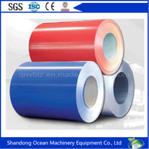 Prepainted Galvanized Steel Sheet in Coils / Color Coated Steel Coils / PPGI pictures & photos