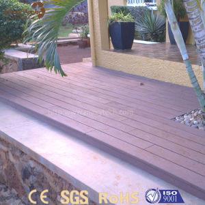 Popular Modern Waterproof Outdoor WPC Solid Wood Flooring pictures & photos