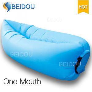 Single Mouth Hammock Air Lazy Sofa Inflatable Banana Sleeping Bags