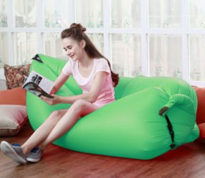 2017 New Portable Lazy Lounger Lazy Sleeping Bag Inflatable Air Sofa pictures & photos
