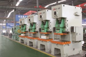 Jh21 Series Open Fixed Platform Power Press with Hydraulic Overload Protector pictures & photos