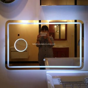 Nulti-Purpose Stainless Steel Furniture Bathroom Accessory Illuminated Mirror (L6015) pictures & photos