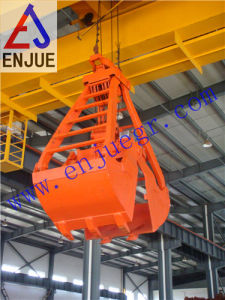 Mechanical Four Ropes Clamshell Dredging Grab pictures & photos
