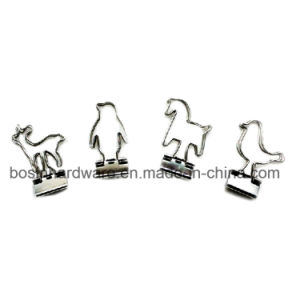 Animal Shape Metal Binder Clips pictures & photos