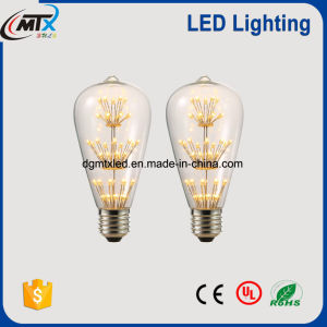 2W Fireworks Starry Retro LED Starry LED bulb pictures & photos
