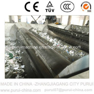 PE Watering Die Face Hot Cutting Plastic Recycling Machine pictures & photos
