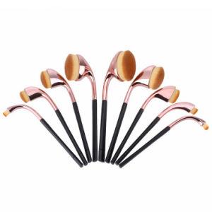 New Design 9PCS/Set Toothbrush Shape Cosmetic Makeup Brush pictures & photos