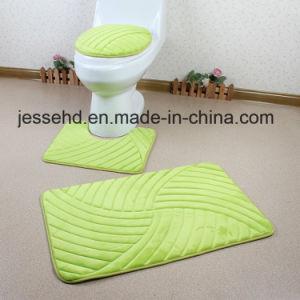 Washable 3PCS Bathroom Sets Decorate Bath Toilet Cover Seat pictures & photos
