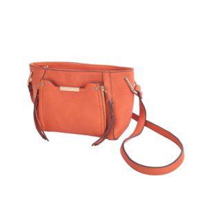 Designer Zipper Front Fashion Brand Ladies Bag (MBNO042102) pictures & photos