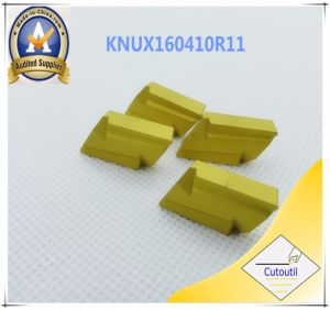 Cutoutil Knux160405L11 for Steel   Carbide Inserts pictures & photos