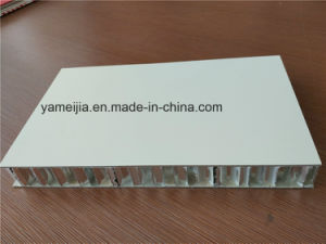 White Color Aluminum Honeycomb Ship Decoration Panels pictures & photos