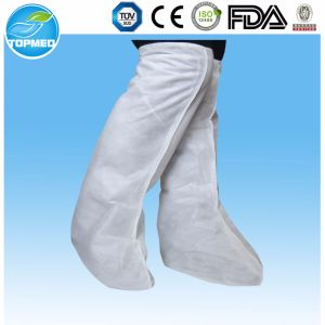 Disposable Plastic Work Boot Cover pictures & photos