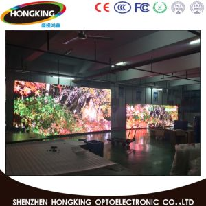 P7.62 Advertising Display Fine Craft 10%-95% Humidity Indoor LED Screen pictures & photos