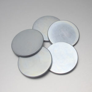 Strong Magnetic Big Disc Zinc Neodymium Magnets pictures & photos