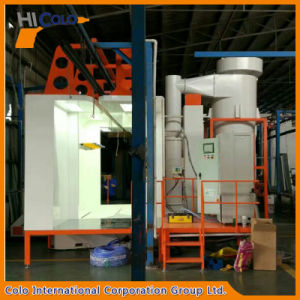 Mono Cyclone Second Recovery PP Plastic Powder Coating Booth pictures & photos