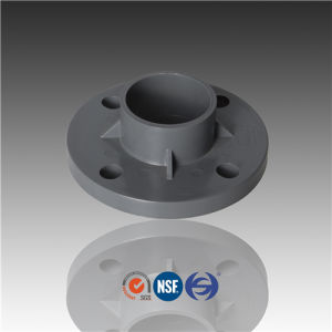 De50 De63 De75 De90 Pn10 PVC One Piece Flange pictures & photos