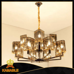 Hotel Smoky Gray Glass Decorative Lamp pictures & photos