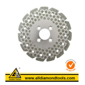Stone Cutting Diamond Electroplated Saw Blade pictures & photos