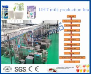 whole plant full automatic 3000LPH Pasteurized milk processing line pictures & photos