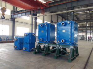 Industrial Stainless Steel Plate and Frame Heat Exchanger/All Welded Plate Type Heat Exchanger/Block Structure pictures & photos