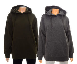 Oversized Hoodies Womens Big Heavy Cotton Warm Hoodies pictures & photos