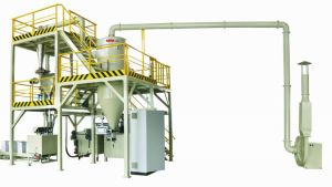 1000kg/H Powder Coating Compact Cooling Crusher pictures & photos
