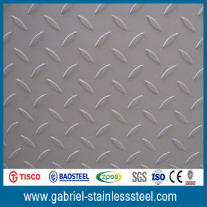 China 304 Hot Rolled Stainless Steel Checkered Plate pictures & photos