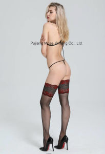 Ladies Sexy Fishnet Lace Bed Wear Teddies for Woman pictures & photos