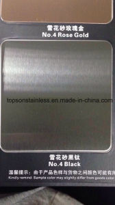 201 304 316 Decorative Stainless Steel Plate with Satin Hairline Finish pictures & photos