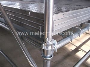 Cuplock Vertical Leg Post Scaffolding Cup Lock System Scaffold pictures & photos