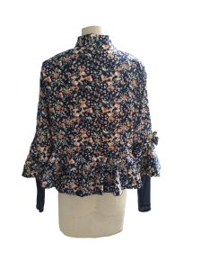 Fashion Latest Spring Fresh Floral Ladies Jacket pictures & photos