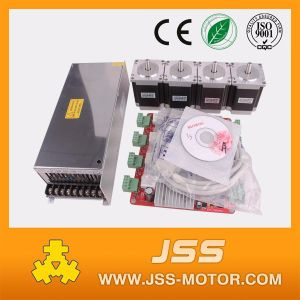 4axis NEMA 23 Stepper Motor for Small CNC with Power Supply and Driver Board pictures & photos