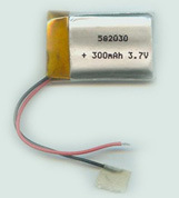 Small 3.7V 70mAh Li-ion Polymer Batteries pictures & photos