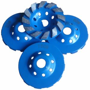 Concrete Grinding Cup Wheel Diamond Grinding Blade pictures & photos