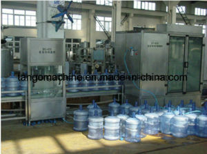 Automatic 5 Gallon 18.9L Jar Drinking Barrel Water Filling Machine pictures & photos