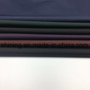 Hot Stamping Foil Polyester Ripstop Fabric for Waterproof Garment pictures & photos