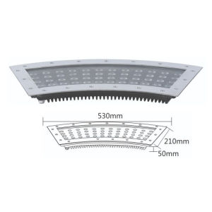 Fan Shape 36W LED Underground Light Garden Inground Lighting  Decoration IP67 High Bright pictures & photos