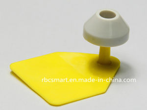 RFID Animal Ear Tag TPU Material Lf Em4305/Hitag-S526 Electronic Tag