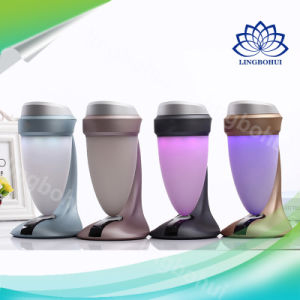 HiFi Desk Lamp Multimedia Bluetooth Mini Speaker with Portable Colorful Mood Light pictures & photos