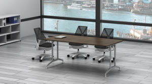 White Customized Metal Steel Office Conference Table Frame with Ht20 pictures & photos
