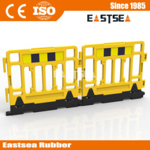 Road Safety HDPE Plastic 1.1m Heavy Base Wall Barrier pictures & photos