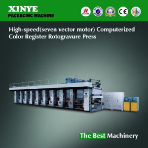 High Speed Computerized Rotogravure Pinting Machine pictures & photos